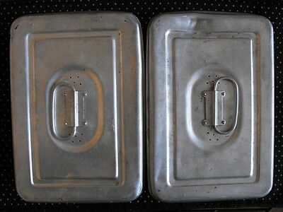 Vinrtage military Tin lunch box 40's 50's