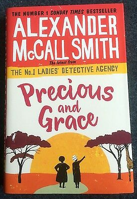 Precious and Grace by Alexander Mccall Smith Hardcover Book