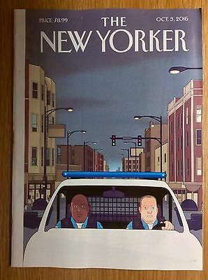 The New Yorker Magazine  -  New Edition for 3 October 2016