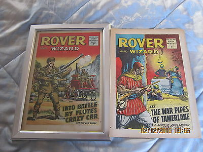 Rover And Wizard Comic- Complete - Used But Still Good. April/22/1967