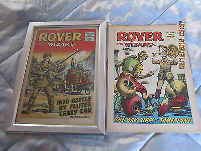 Rover And Wizard Comic- Complete - Used But Still Good. April/29/1967
