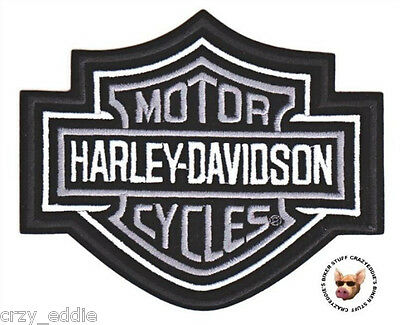 Harley Davidson Classic Bar & Shield Vest Patch  **made In Usa **