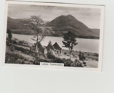 Senior Service Cigarette Card Beautiful Scotland Series No 14 Loch Torridon