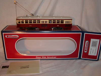 Williams by Bachmann BAC 23907 Toronto Transit Peter Witt Streetcar O MIB New