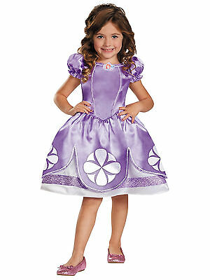 Sofia The First Disney Classic Royal Princess Toddler Girls Costume 2T