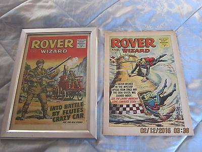 Rover And Wizard Comic- Complete - Used But Still Good. 20Th. May/1967