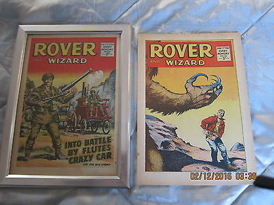 Rover And Wizard Comic- Complete - Used But Still Good. 17Th. June/1967