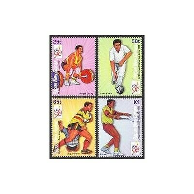 Papua New Guinea 952-955,MNH. 1998 Commonwealth Games.Weight lifting,Lawn bowls,