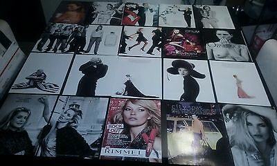 KATE MOSS Supermodel Magazine Clippings Lot