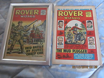 Rover And Wizard Comic- Complete - Used But Still Good. 3Rd. June/1967