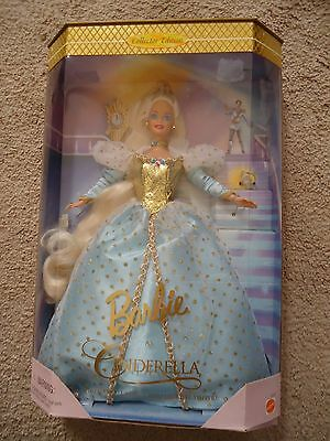 Barbie As CINDERELLA 16900 NEW 1996 Collector's Series