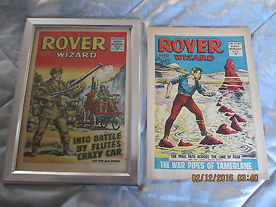 Rover And Wizard Comic- Complete - Used But Still Good.10Th. June/1967