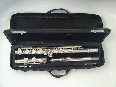 Trevor J James Flute in Original Carry Case with Box & Stand