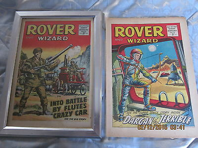 Rover And Wizard Comic- Complete - Used But Still Good.15Th. July/1967