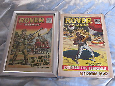 Rover And Wizard Comic- Complete - Used But Still Good.5Th. August/1967