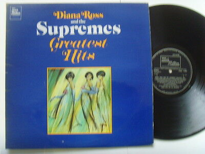 """Diana Ross & The Supremes - Greatest Hits 12"""" Lp 1967"""