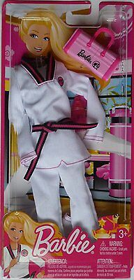 Barbie Doll I Can Be Judo Karate  Martial Arts Fashion Outfit - Clothes Set