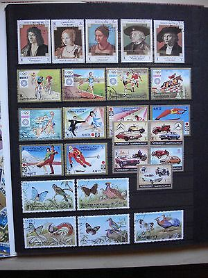 Moyen Orient 58 Timbres Thematiques Series Sports Faune Napoleon 2 Pages