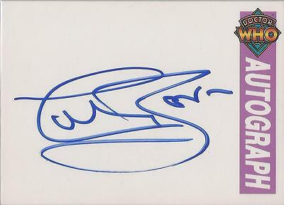 "Doctor Who Cornerstone Series 1 - Colin Baker ""The Sixth Doctor"" Autograph Card"