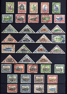 6093-MOÇAMBIQUE-NICE LOT of USED STAMPS.LOTE de SELLOS USADOS de MOZAMBIQUE.