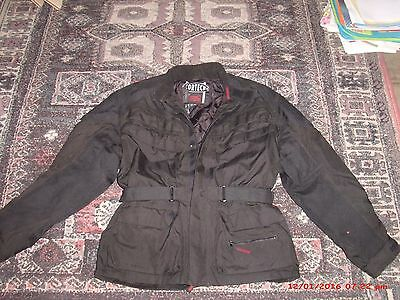 Cortech by Tour Master motorcycle touring jacket in size medium - padded & nice