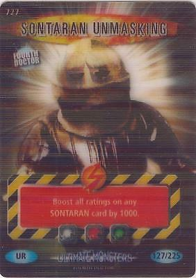 "Doctor Who Battles In Time Ultimate Monsters - Ultra Rare ""Sontaran"" Card #727"