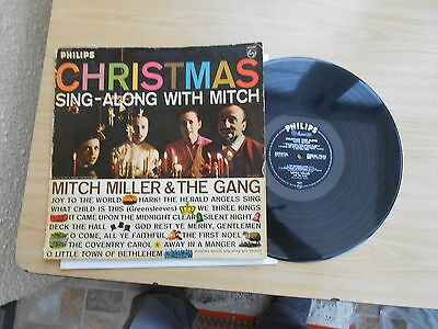 Mitch Miller & The Gang=Christmas Sing-Along With Mitch  Vg++