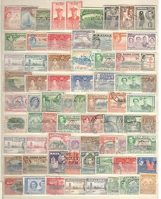 British Colonies - 70 Stamps - Mint And Used