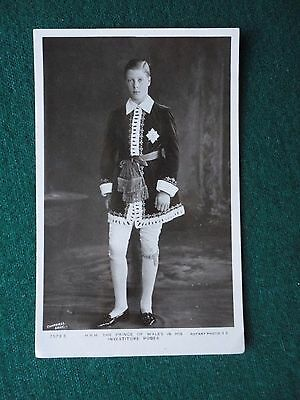 Antique Photographic Postcard Prince of Wales Investiture later King Edward VIII