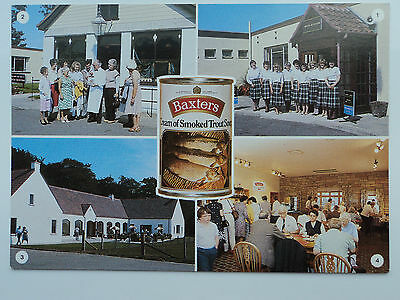 DRG Old large colour multi-view PC Baxters of Speyside Fine Foods Factory.