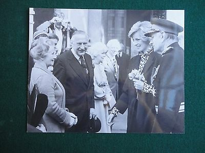 Antique Press Photo of a young looking Princess Diana