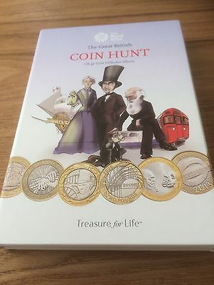 New 2016 Royal Mint Coin Hunt £2 Two Pound Album With 30 X£2 Coins