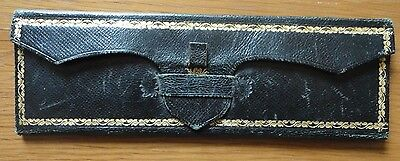 Antique Victorian Leather Gold Tooled Case for the Card Game Bridge Accessories
