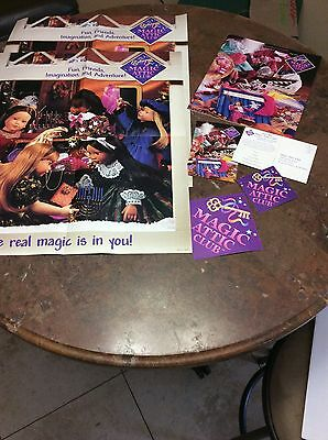 Magic Attic Club DOLL Catalog 1997 Introducing Rose 2 Posters Stickers