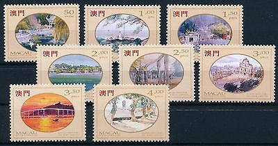 [L0662] Macau 1995 : Painting - Good Set of Very Fine MNH Stamps