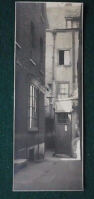 Fine Original Antique Photo of London Streets in the 1930s