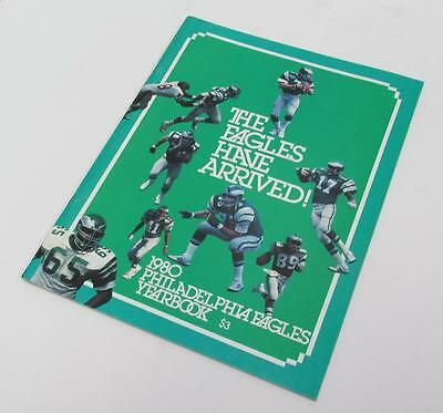 1980 PHILADELPHIA EAGLES YEARBOOK Publication NFL Football EXCELLENT CONDITION