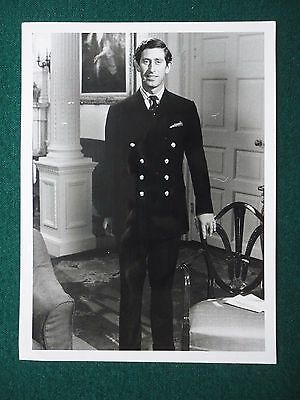 Press Photo of a Young Prince Charles Smartly Dressed in a Prince of Wales Suit