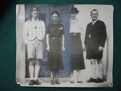 Original Press Photo of Duke & Duchess of Kent in Hungary 1937