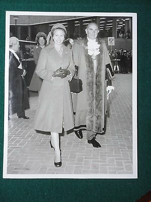 Press Photo of a Young Princess Anne Criticized for being too Old Fashioned 1977