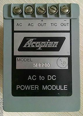 Acopian 5EB200 AC to DC regulated power supply module