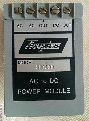 Acopian 5EB100 AC to DC regulated power supply module