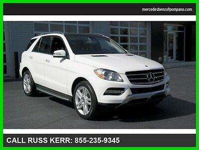 2015 Mercedes-Benz M-Class ML350 Premium Lane Tracking Parking Assist 2015 ML350 Premium We Finance and assist with Shipping