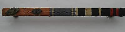 Finland WWII 1939-45 Ribbon Bar with 5 Awards!!!