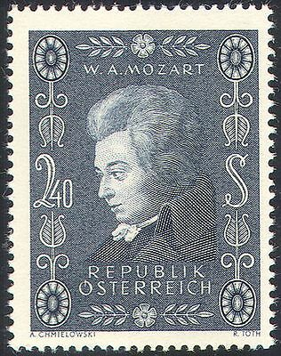 Austria 1956 Mozart/Music/Composers/Entertainment/Opera/People 1v (n37746)