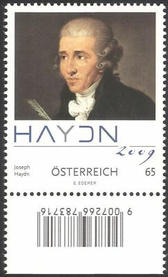 Austria 2009 Haydn/Composers/Music/Musicians/Entertainment/People 1v (at1088)