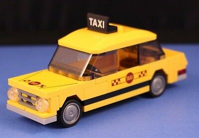 LEGO® City™ 76057 YELLOW TAXI CAB only miniset + Stickers