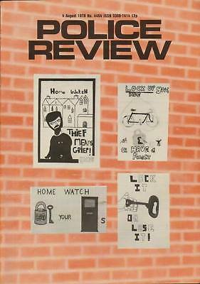 """Police Review ."""" A New Safe Patented """" August 1978"""