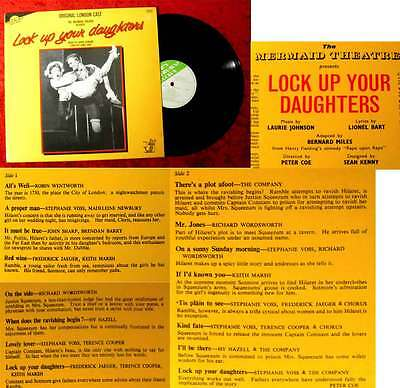 LP Lock Up Your Daughters (Music by Laurie Johnson) London Cast UK 1983