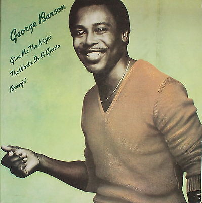 """GEORGE BENSON - Give Me The Night / World Is A Ghetto / Breezin` [SP 45 RPM 12""""]"""
